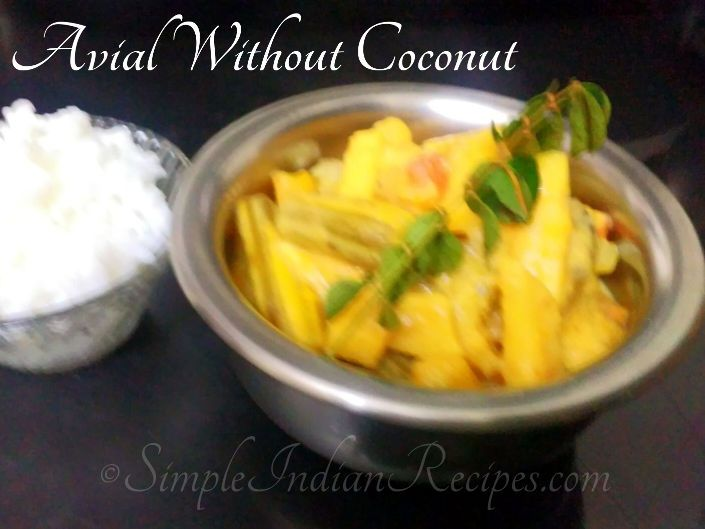 Avial Without Coconut