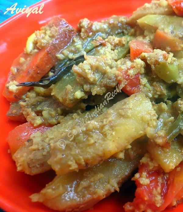 Aviyal kerala avial adai avial simple indian recipes for Avial indian cuisine
