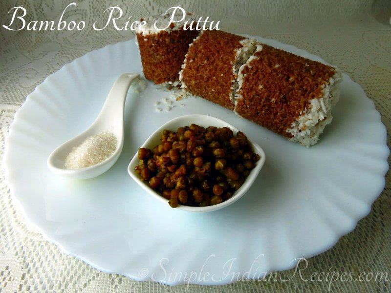 Bamboo Rice Puttu