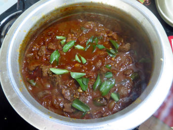 Beef Curry Preparation Steps