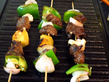 Beef Kebab Preparation Steps