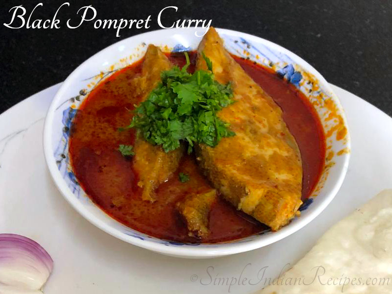 Spicy Black Pomfret Curry