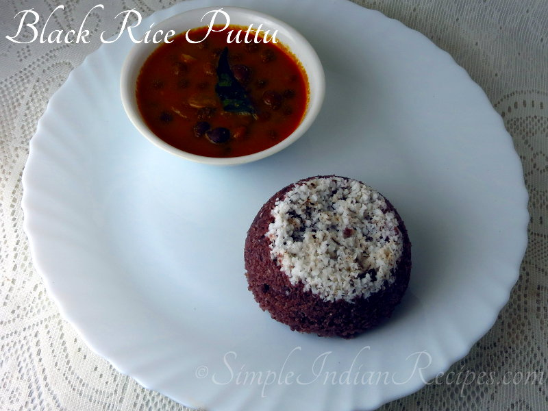Black Rice Puttu