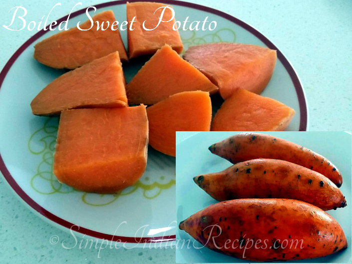 Boiled Sweet Potato