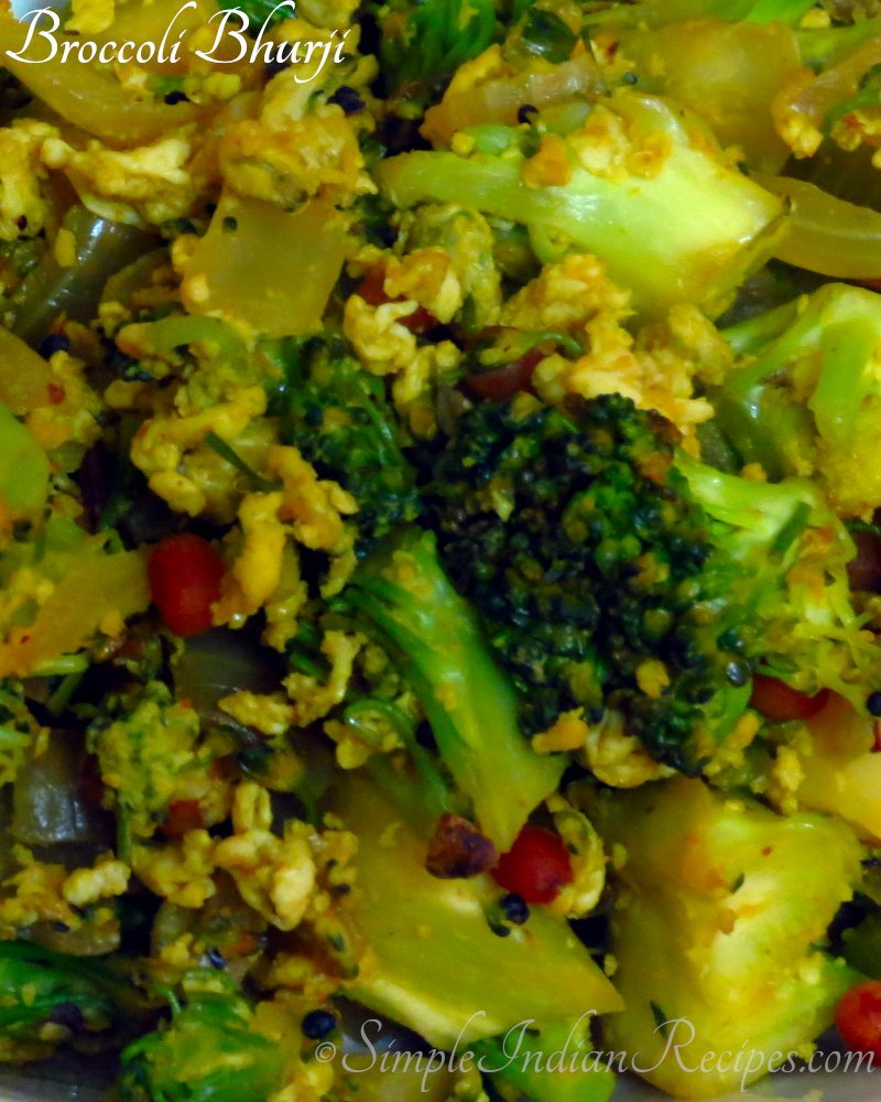 Broccoli Bhurji