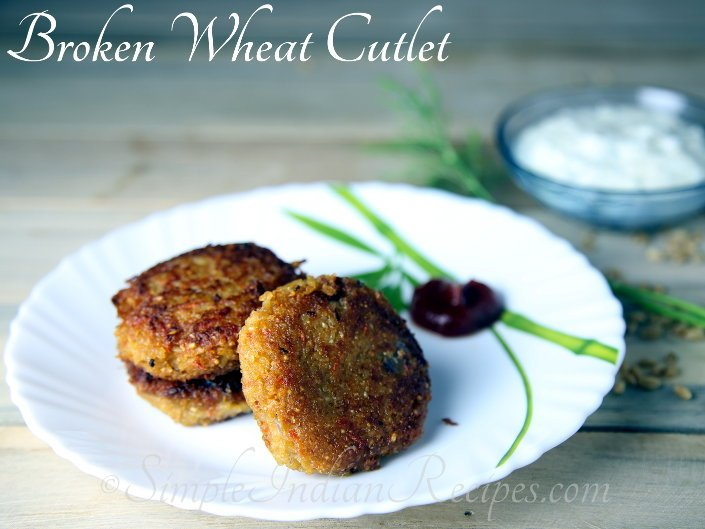 Broken Wheat Patties