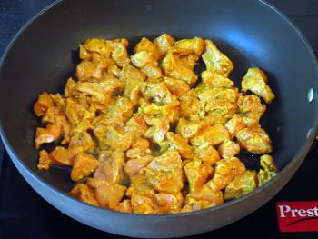 Butter Chicken preparation Step