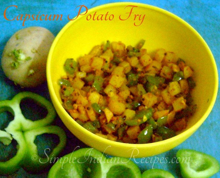 Capsicum Potato Fry