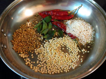 Capsicum Rice Preparation Step
