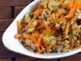 Carrot Egg Bhurji
