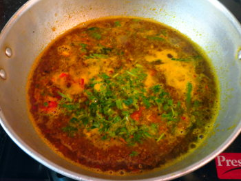 Carrot Rasam Preperation Steps