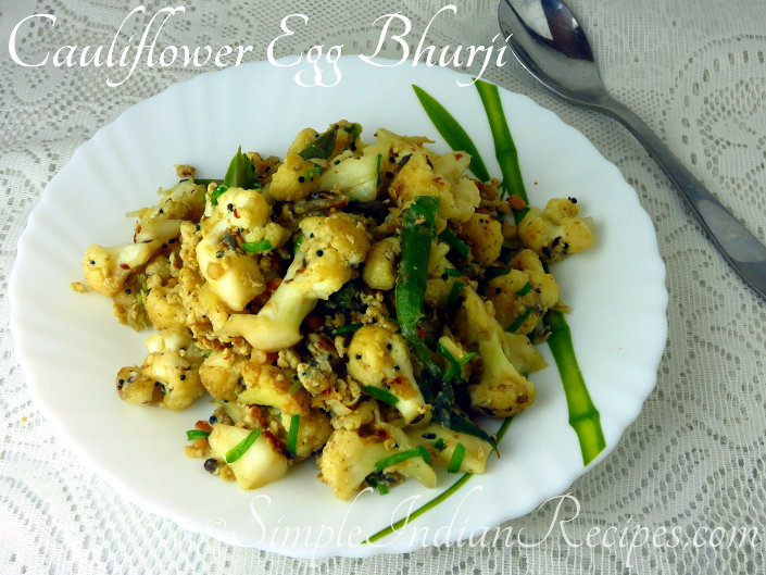 Cauliflower Bhurji