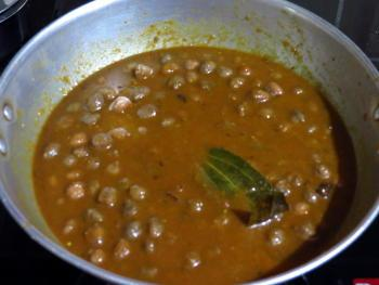 Channa Masala Steps