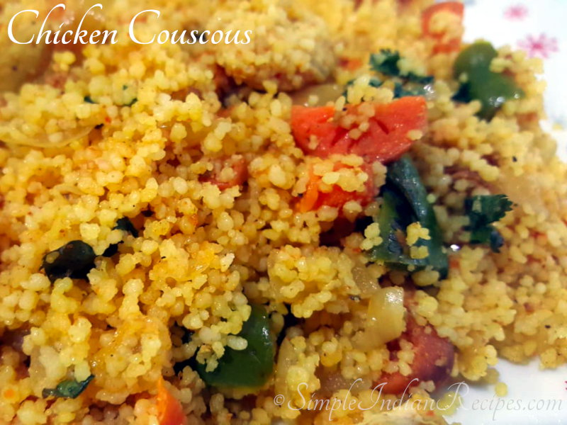 Spicy Chicken Couscous