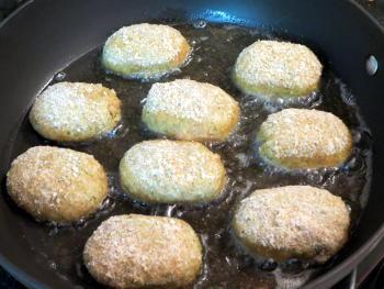 Chicken Cutlet Preparation Steps