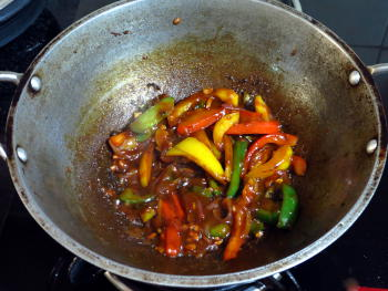 Chili Paneer Preparation Steps