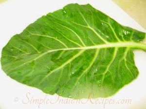 collard greens poriyal