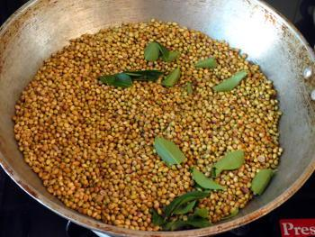 Coriander Powder Steps