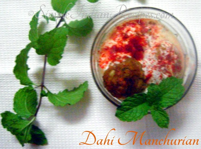 Dahi Vegetable Manchurian