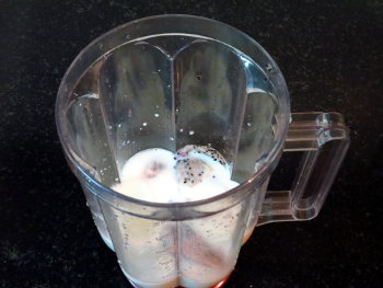 Dragon Fruit Milkshake Preparation Steps