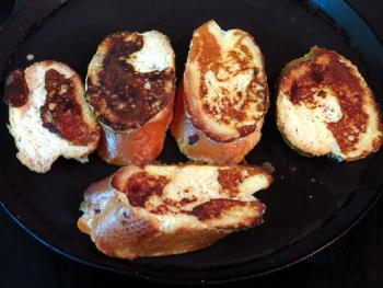 French Toast Steps