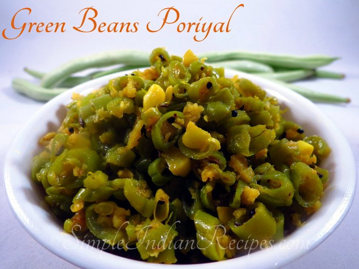 Green Beans Poriyal