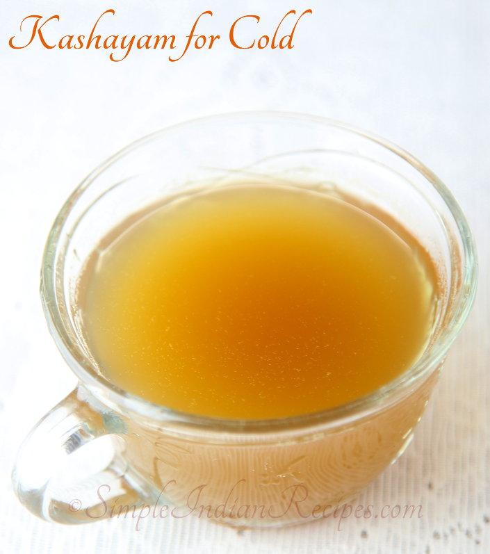 Kashayam for Cold