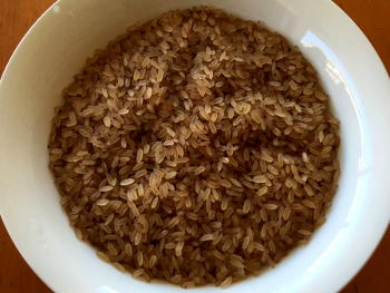 Kerala Matta Rice Preparation Step