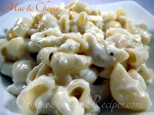 Macaroni And Cheese Preparation Step