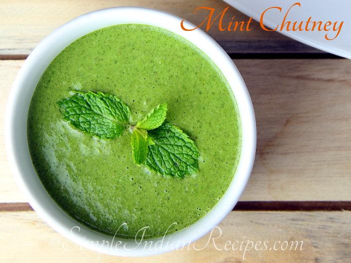 Mint Chutney - Pudhina Chutney | Simple Indian Recipes