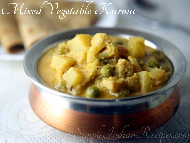 Mixed Vegetable Kurma