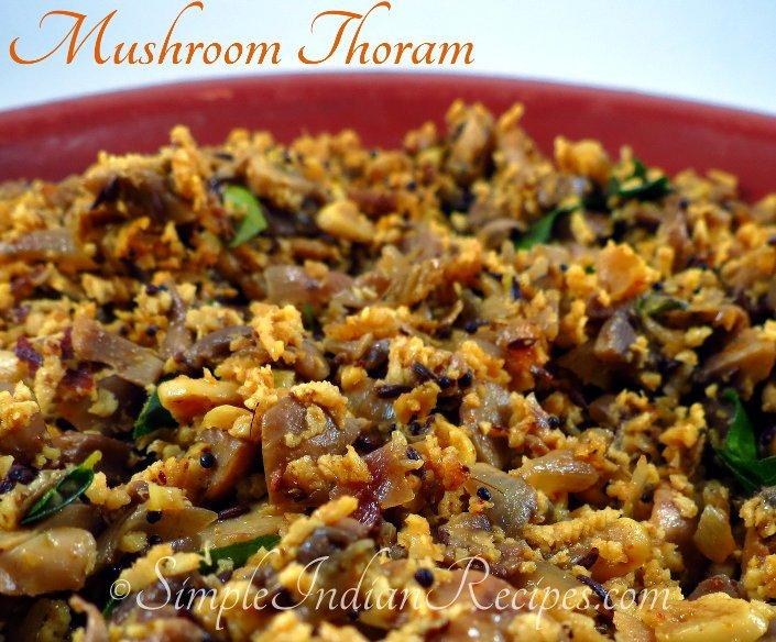 Easy kerala mushroom recipes