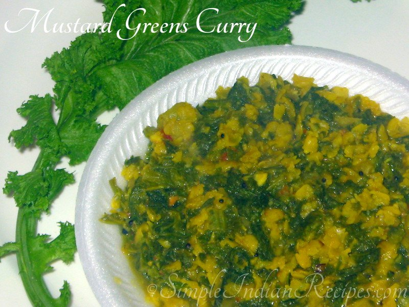 Mustard Greens Curry