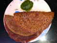 Nachani Ghavan (Finger Millet Crepes)