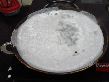 neer Dosa Preparation Step