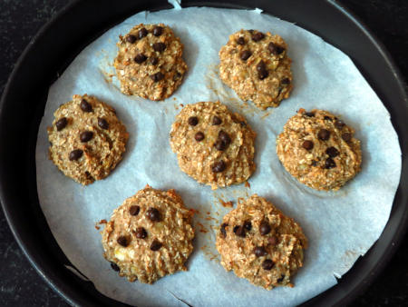 Oatmeal Cookie Preperation Steps