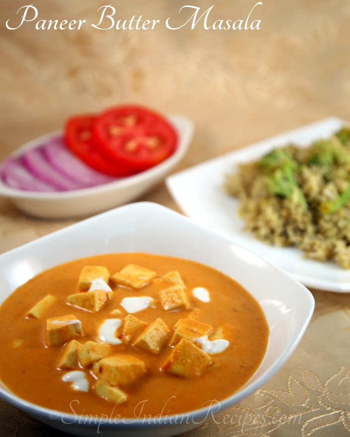 Paneer butter masala paneer makhani simple indian recipes paneer makhani paneer makhanwala indian cheese curry paneer kurma forumfinder Images