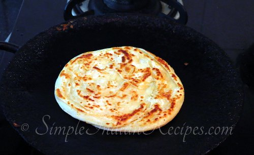 Parotta Preparation Steps