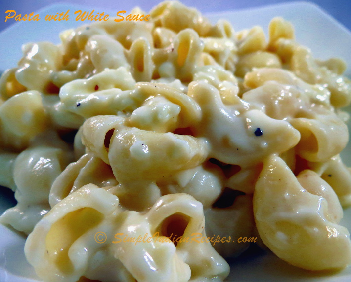 White sauce simple indian recipes pasta with white sauce forumfinder Image collections