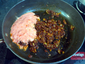 Pav Bhaji Preparation Step