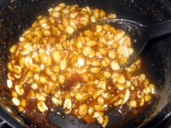 Peanut Chikki Preparation Step