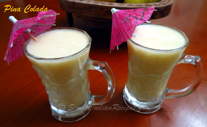 Virgin pina colada recipe without pineapple