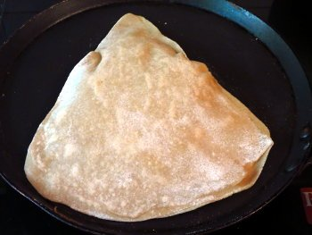 Plain Paratha Preparation Step
