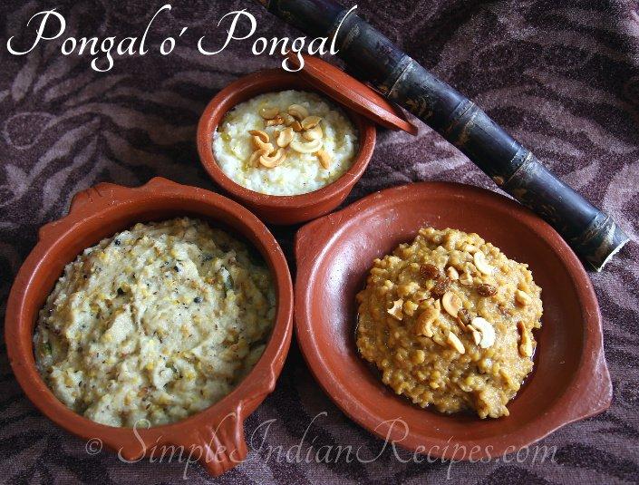 Thai Pongal And Makar Sankranti Festival Recipes Simple