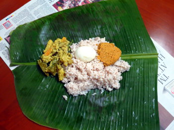 Kanyakumari Pothi Choru Preparation Step