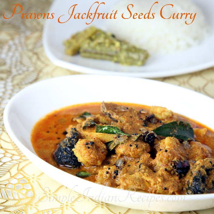 Prawns Jackfruit Seeds Curry
