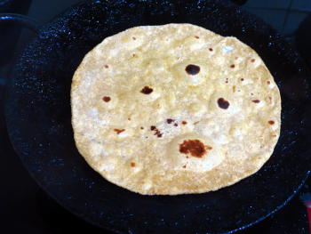 Pumpkin Paratha Preparation Steps