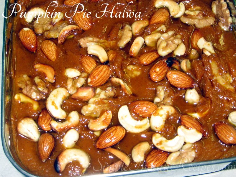 Pumpkin Pie Halwa