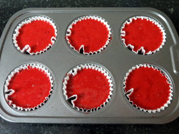 Red Velvet Cake Preparation Step