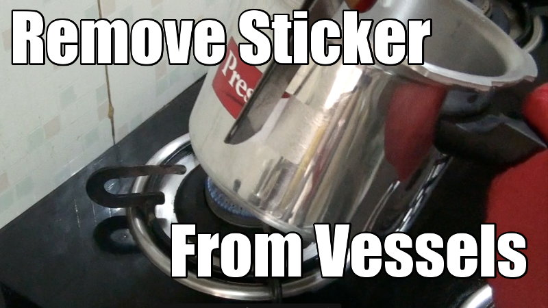 Remove Stickers From Stainless Steel